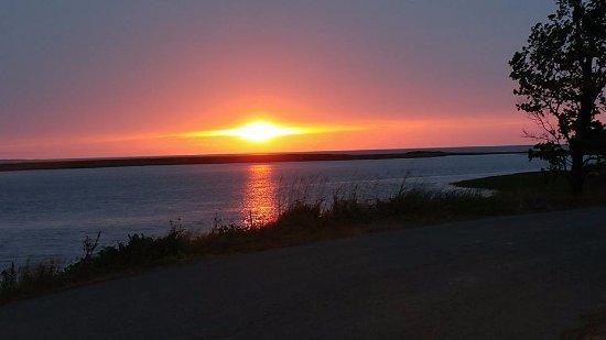 Sunset in River John, Nova Scotia