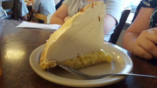 Marble Falls, Teksas: Lemon Merengue pie