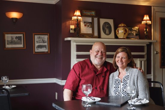 Bristol, PA: Annabella's owners, Robert and Alison Angelaccio.