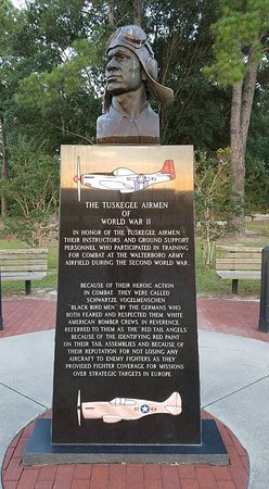 The Tuskegee Airmen Monument