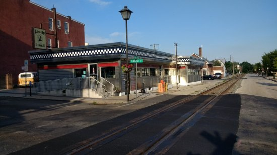 Lincoln Diner, right on the main drag in downtown Gettysburg.