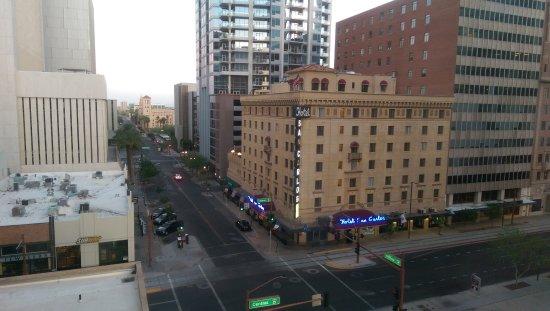 hilton garden inn phoenix downtown view from room - Hilton Garden Inn Phoenix Downtown