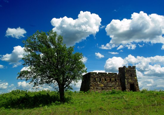 Lindsborg, KS: Coronado Heights Castle