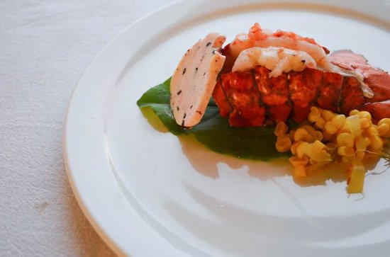 Sackville, Canada: Fundy Lobster Tail with Wild Blueberry Butter