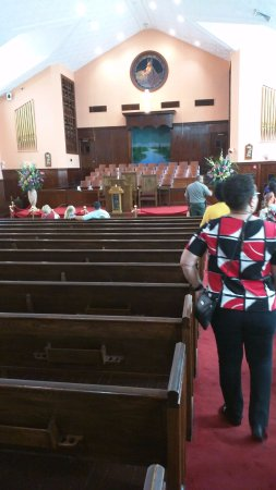 Ebenezer Baptist Church of Atlanta : Ebenezer Bapt. Church, Sanctuary