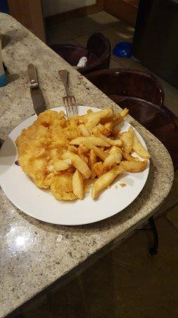 Eye, UK: fish and chips