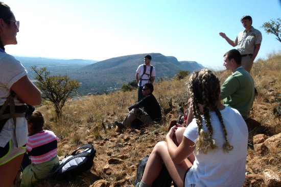Hartbeespoort, Sudafrica: Our guides will share lots of interesting and fun information with you.