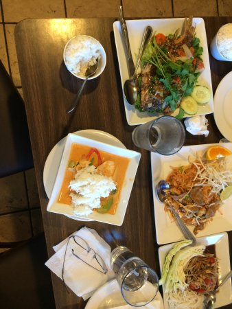 Some Of Our Dishes Picture Of Champa Garden Redding Tripadvisor