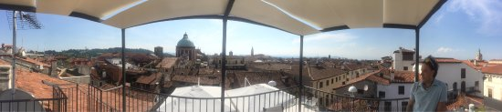 from the rooftop - Foto di Antico Hotel Vicenza, Vicenza - TripAdvisor