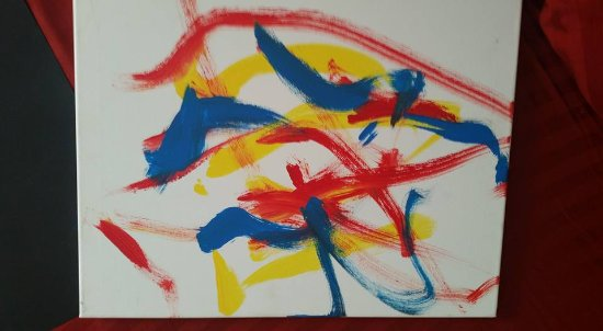Hugo, OK : Painting by Isla the Elephant