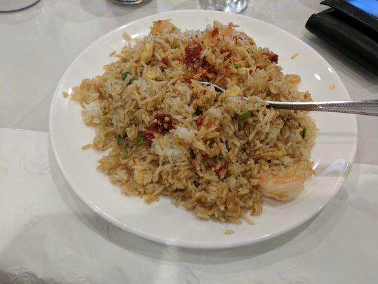 Los Gatos, CA: Shrimp fried rice @ Yeung Shing