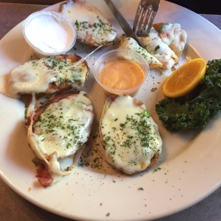Morristown, TN: Potato Skins Appetizer