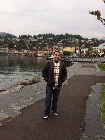 Osteria Nostrana: Ticino, às margens do Lago