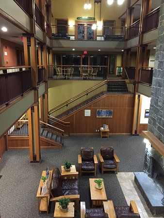 Bartlett, NH: Lobby area