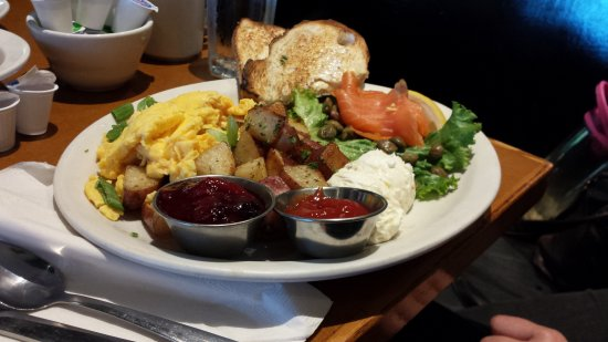 Stella's on Grant: Smoked Salmon Breakfast