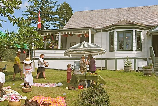 Pender Island, Canada: Parks Canada Day festivities at the museum