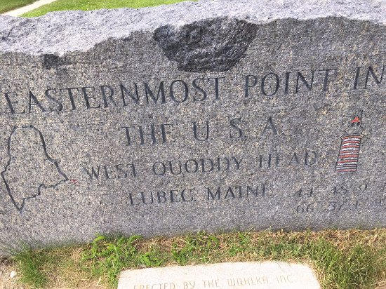Lubec, ME: Easternmost Point
