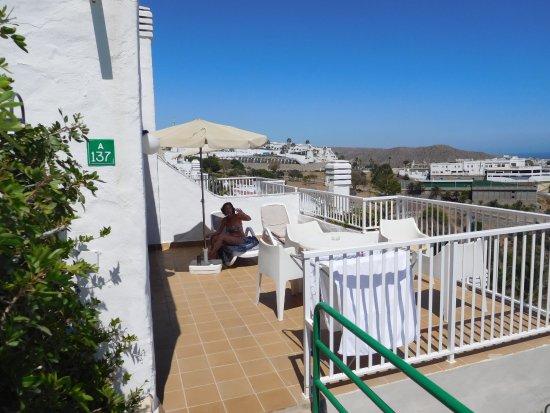 Terraza del apartamento kuva hotel altamar puerto rico for Terraza del apartamento