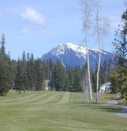 Kahler Glen Golf & Ski Resort: View from tee box on #11 hole