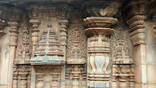 Haveri, India: Corner stones