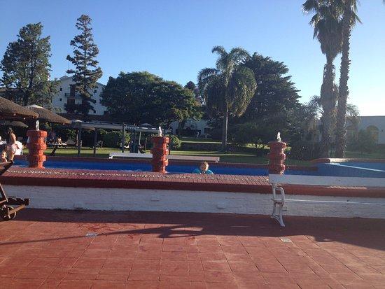 Nueva Helvecia, Uruguay: Fuente que sirve como piscina para bebés