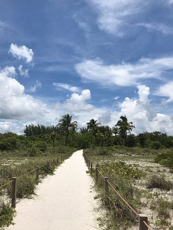 Blind Pass Condominiums: Pathway back from beach to condo