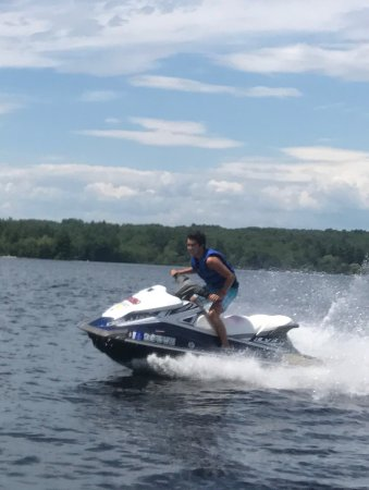 ‪‪Naples‬, ‪Maine‬: Jet ski heaven‬