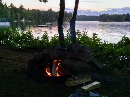 Alfred, ME: Campfire Roasted Hot Dogs