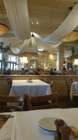 BRIO Tuscan Grille : Inside, dining room with lots of natural lights