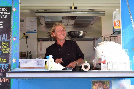 ชายหาดมิชชัน, ออสเตรเลีย: Lunch was as great as your smile!