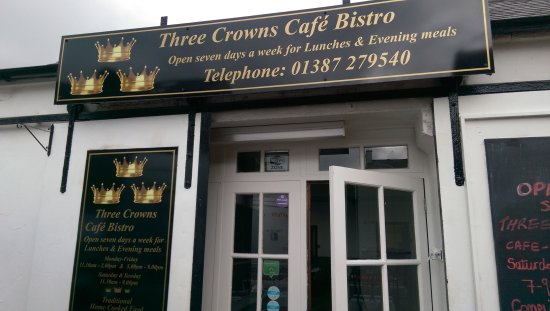 Dumfries and Galloway, UK: Three Crowns Cafe Bistro
