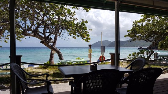 Long Bay Beach Club : View from restaurant