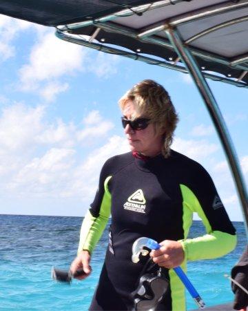 ชายหาดมิชชัน, ออสเตรเลีย: Karen the Captain, an amazing guide