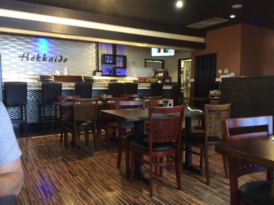 Hokkaido Anese Steakhouse And Sushi Bar Dining Area