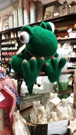 Thomas, Virginia Occidental: Fun Frog at the register