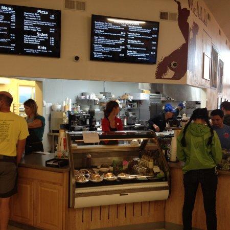 Tioga Gas Mart & Whoa Nellie Deli: Order point and Kitchen