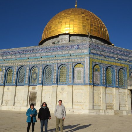 Touring Israel Luxury Day Tours : Up close at Dome of the Rock
