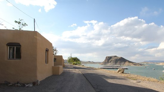 View of Elephant BUtte from the casitas