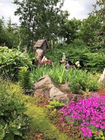 Dapple-Gray Bed & Breakfast : Lovely flower gardens at Dapple-Gray