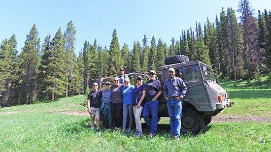 McLeod, MT: Pinzgauer 6 wheeler trip