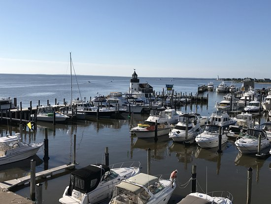 Old Saybrook, CT: View from our balcony