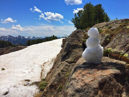 McLeod, MT: Looking out over his kingdom-