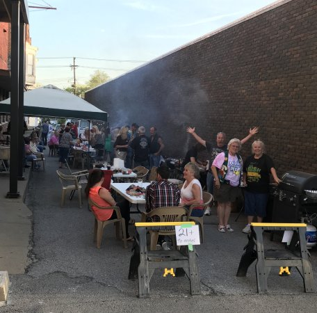 Marion, IL: Grills night out with lots of food to sample.