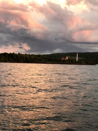 Copper Harbor, MI: after the storm on the sunset cruise