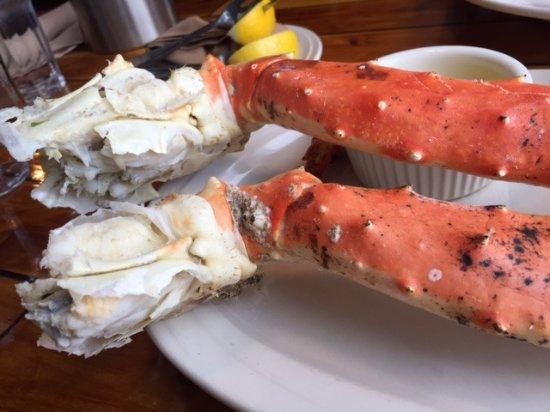 The Chart Room Restaurant King Crab Legs