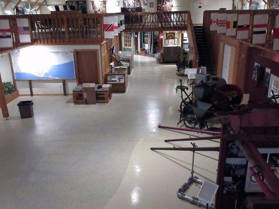 Delhi, Canada: Inside the museum