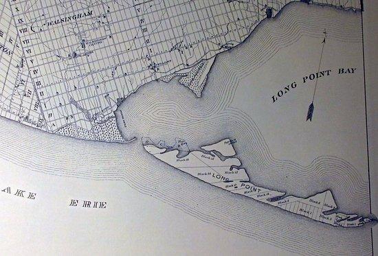 Delhi, Canada: Long Point Peninsula, when it was an island