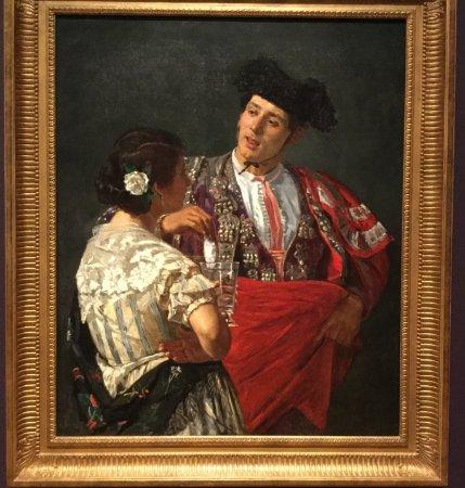 Williamstown, MA: Offering the Panal to the Bullfighter. 1873. Mary Cassatt (1844-1926).