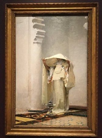 Williamstown, MA: Fumee d'ambre gris (Smoke of Ambergris) 1880. John Singer Sargent (1856-1925.)