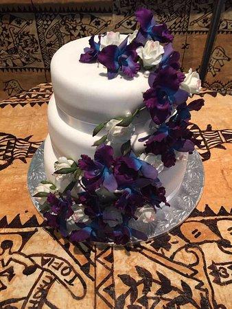 Epsom, New Zealand: Wedding Cake